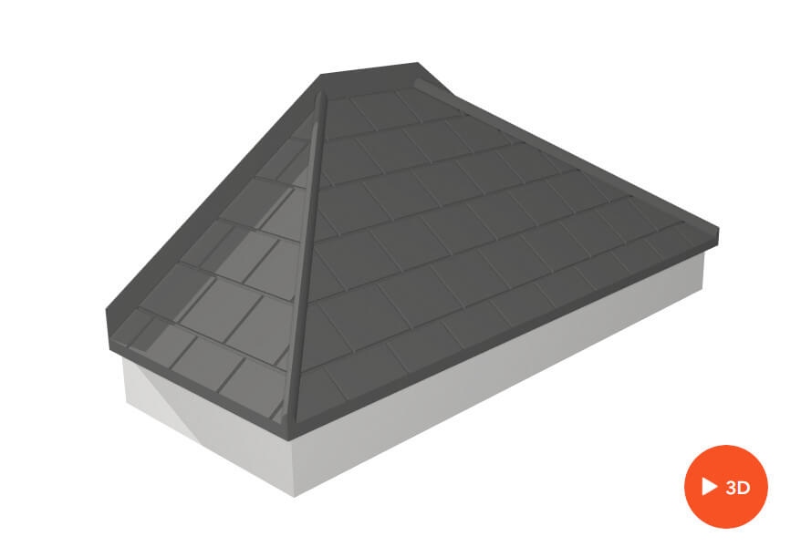 GRP Canopy Roof